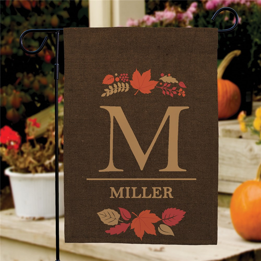 Fall Personalized Garden Flag | Personalized Garden Flags