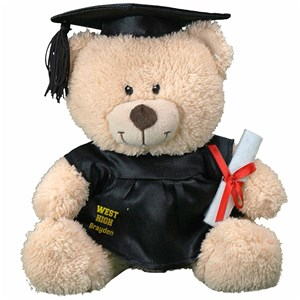 Cap & Gown Graduation Teddy Bear | Graduation Gifts