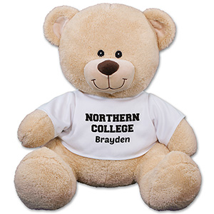 Personalized School Spirit Teddy Bear