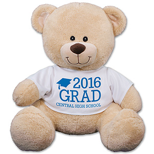 Personalized Grad Teddy Bear