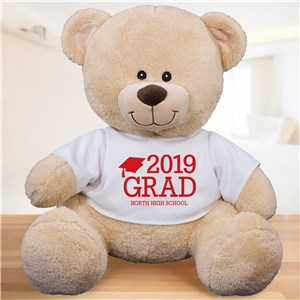 Personalized Grad Teddy Bear | 2019 Graduation Gifts
