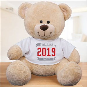 Personalized Class Of Teddy Bear | 2019 Graduation Gifts