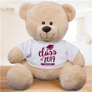 Personalized Class Of Teddy Bear | Graduation Teddy Bear
