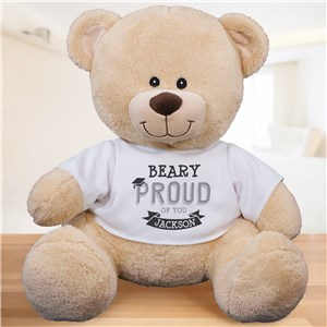 Personalized Beary Proud Graduation Teddy Bear | Graduation Gifts
