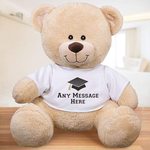 Any Message Personalized Graduation Teddy Bear | Graduate Gifts
