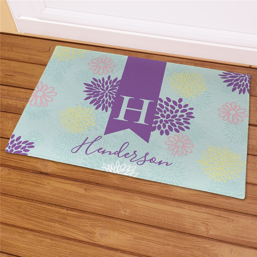 Doormat for Spring | Personalized Housewarming Gifts