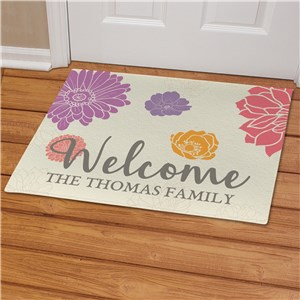 Spring Family Doormat | Spring Gifts