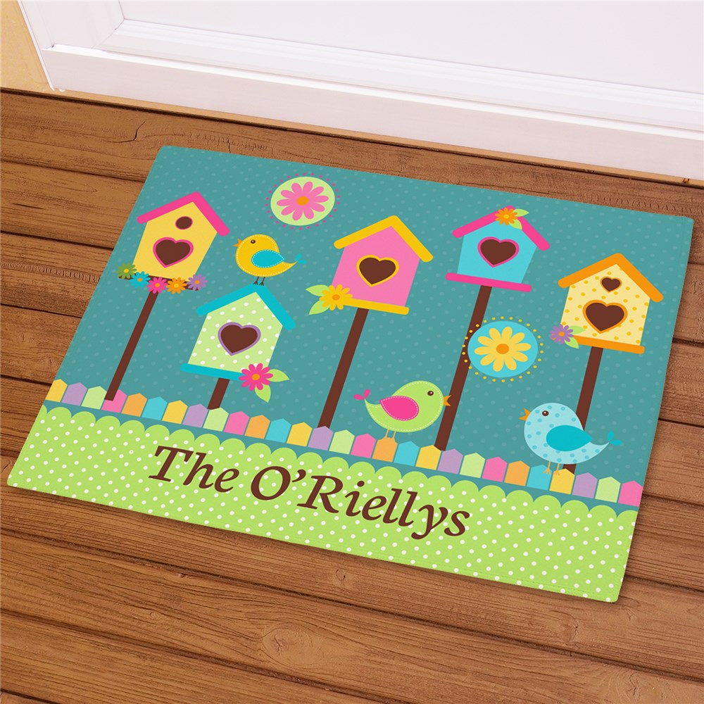Personalized Bird House Doormat | Personalized Doormats