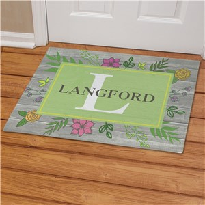 Personalized Spring Doormats | Wood Pallet Door Mats