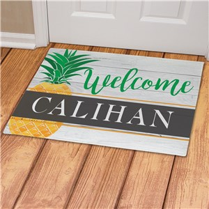 Custom Doormats with Name | Pineapple Door Mat