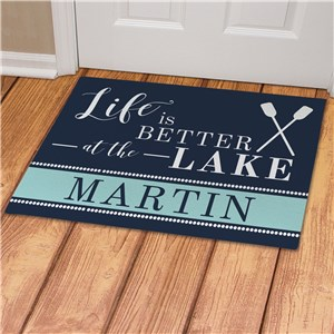 Personalized Doormat For Lakehouse | Lakehouse Decor