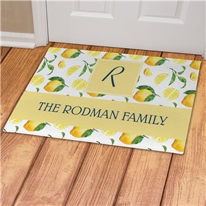 Personalized Doormat | Lemon House Decor