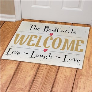 Live, Love, Laugh Doormat | New Home Gift Ideas