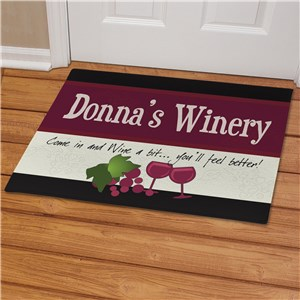 My Winery Personalized Doormat | Personalized Doormats