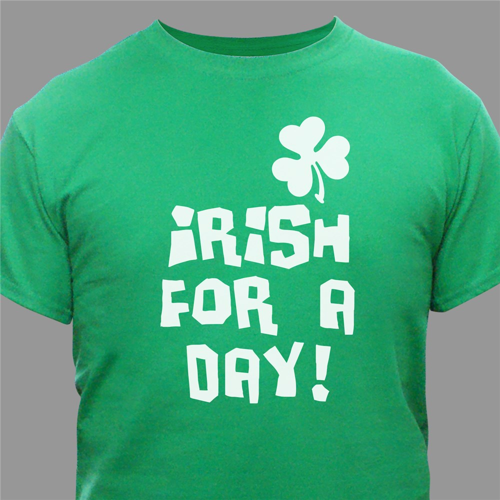 St. Patrick's Day Shirts | Irish For A Day