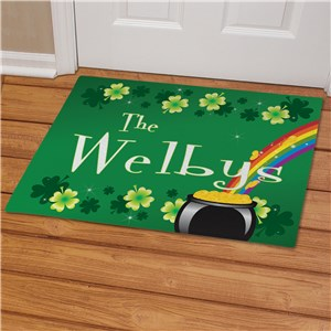 Irish Rainbow Welcome Mat | Irish Welcome Mat