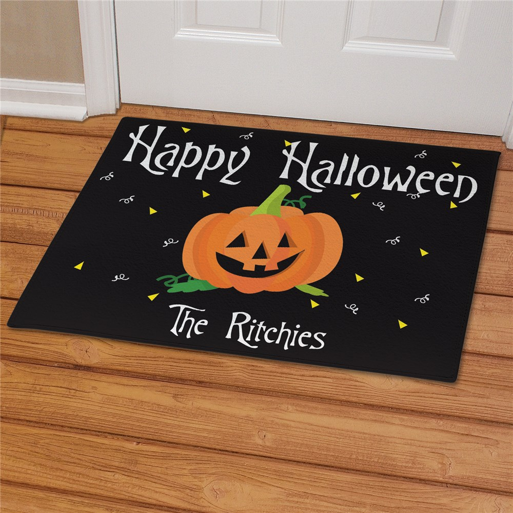 Happy Halloween Welcome Doormat | Unique Halloween Decor