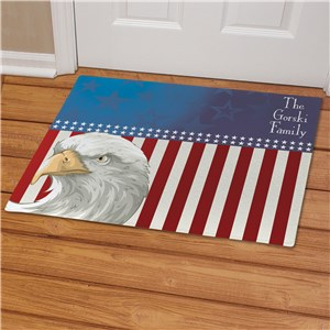Personalized American Pride Doormat | Personalized Doormats