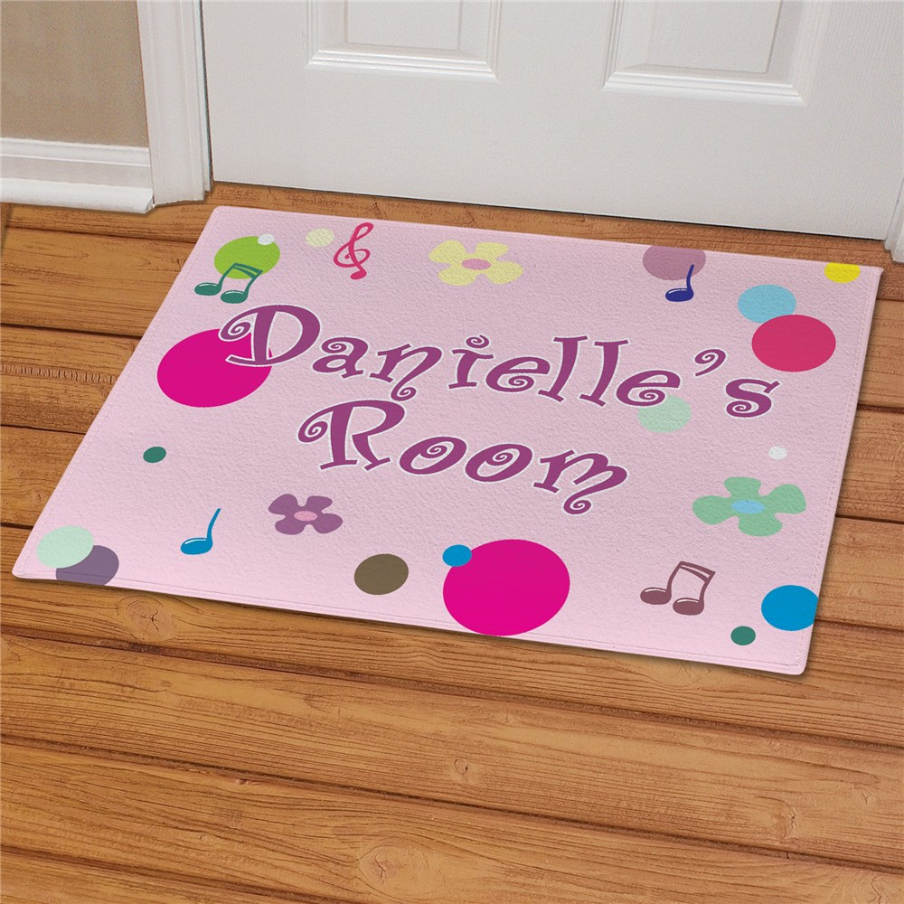 Personalized Bedroom Doormat | Personalized Doormats