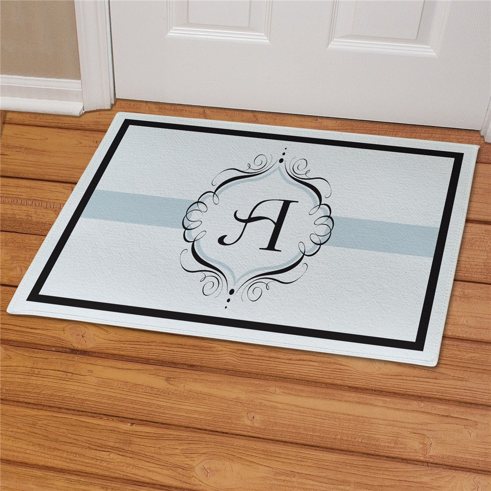Monogram Welcome Personalized Doormat | Monogram Doormat