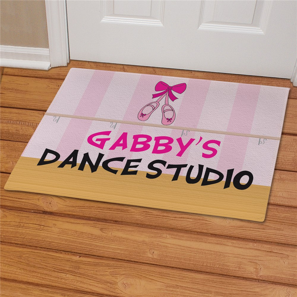 Personalized Dance Studio Doormat | Personalized Doormats