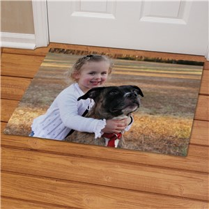 Picture Perfect Pet Photo Doormat | Personalized Doormats
