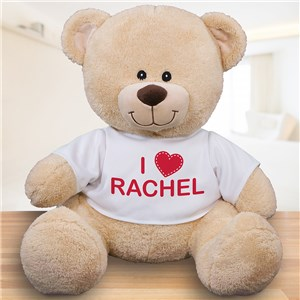 Valentine's Day Teddy Bear | Your Name On A Teddy Bear