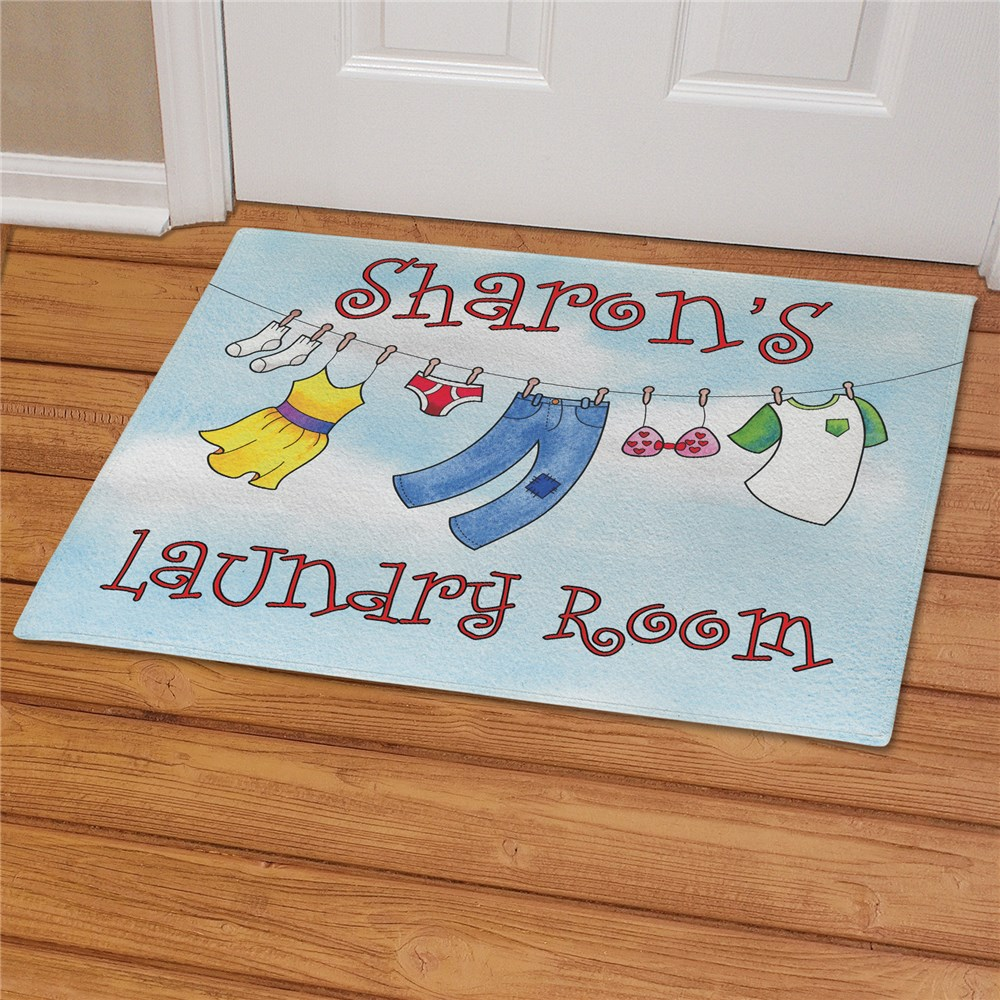 Personalized Laundry Room Doormat | Personalized Doormats