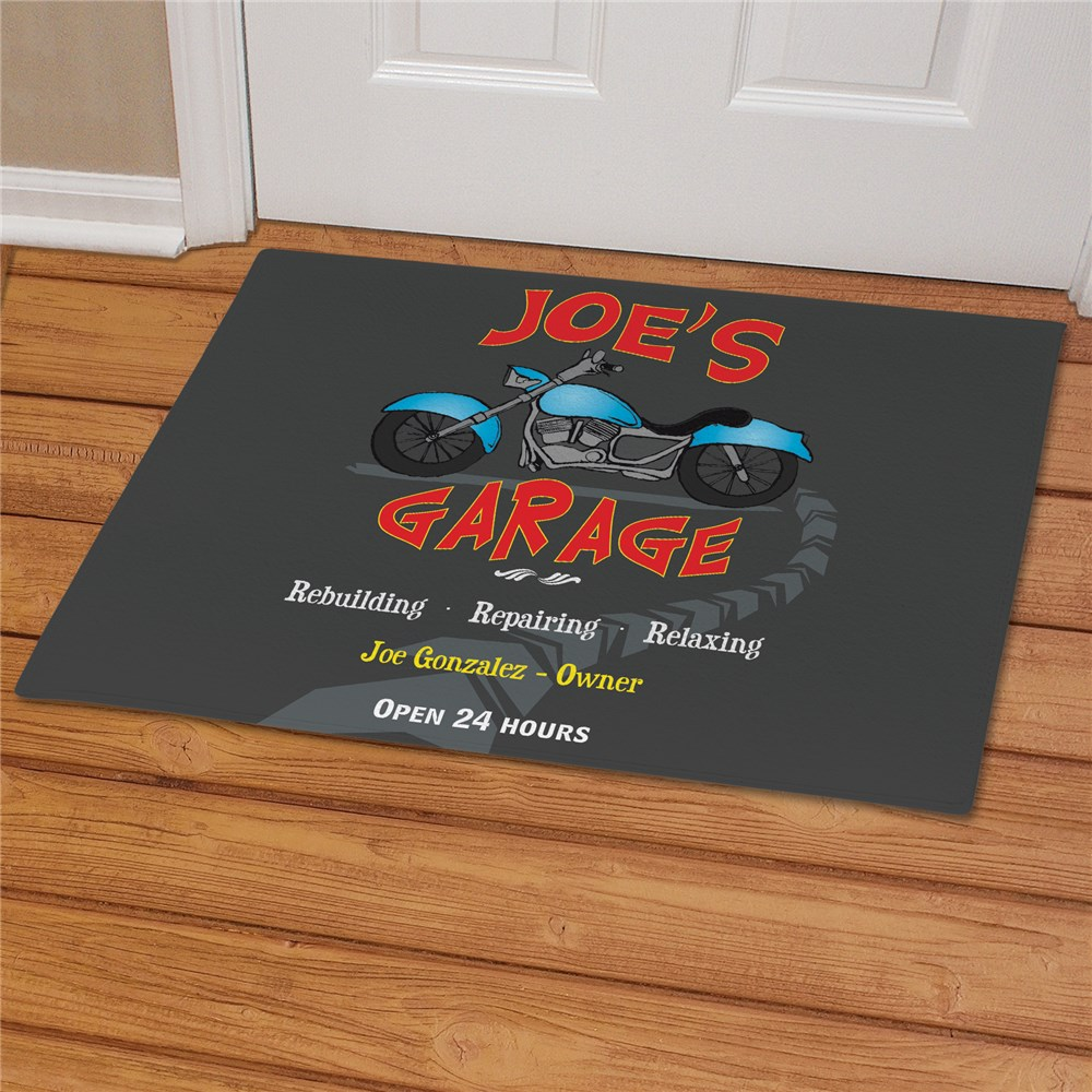 Custom Garage Doormats | Personalized Welcome Mats