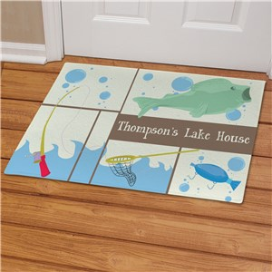 Personalized Fisherman Doormat | Personalized Doormats
