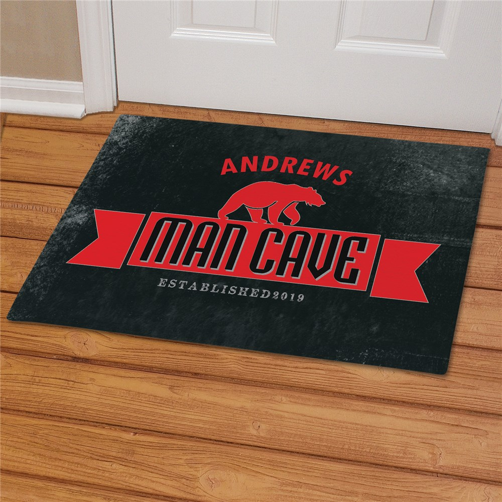 Personalized Man Cave Doormat | Personalized Doormats