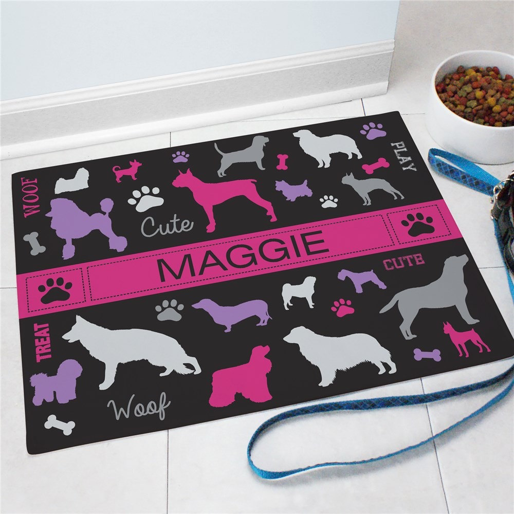 Personalized All Breeds Pet Mat 83199107