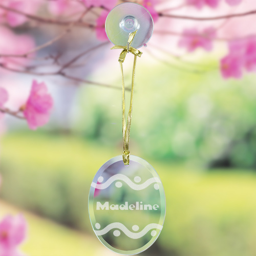 Engraved Easter Egg Suncatcher 832904