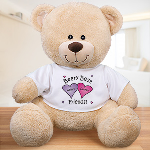 Personalized Beary Best Friends Teddy Bear 833009BX