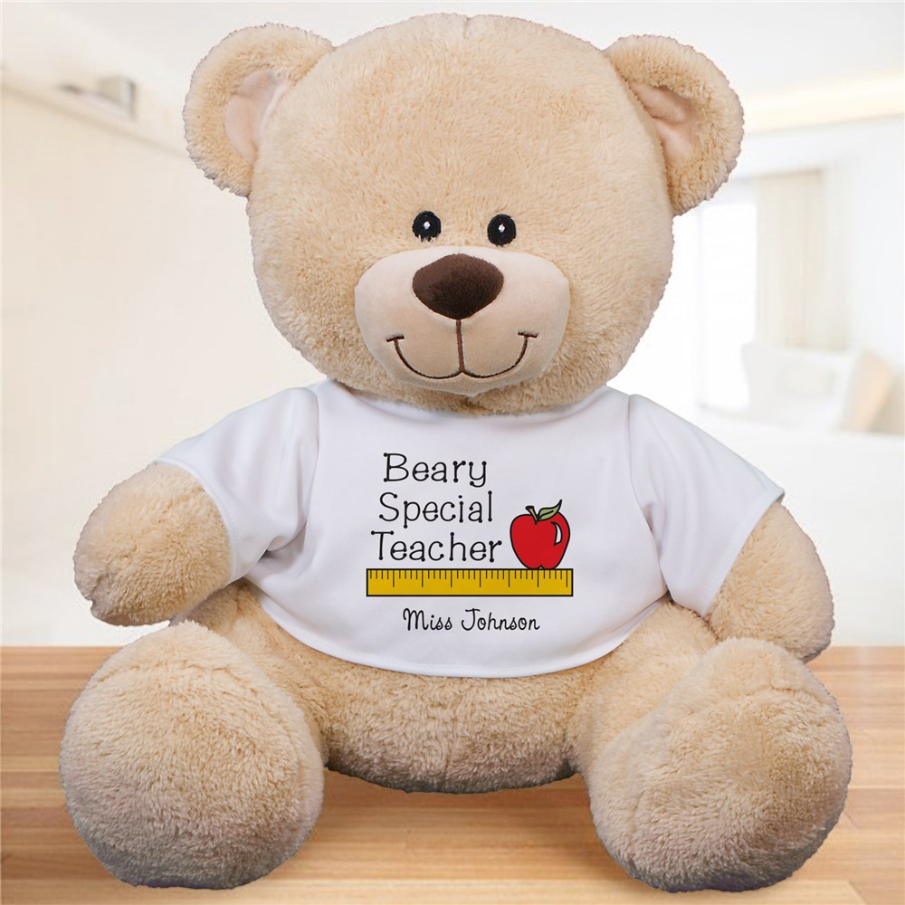 Personalized Beary Special Teacher Teddy Bear | Personalized Teacher Gifts
