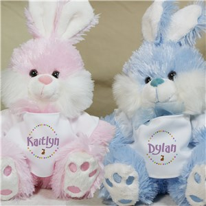 Personalized Easter Bunny | Stuffed Bunnies