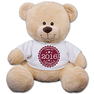 Personalized Class Of Stamp Teddy Bear
