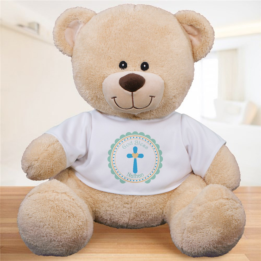 Blessing Boy Personalized Bear | Personalized Teddy Bear
