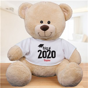 Personalized Class Of Graduation Teddy Bear | 2019 Grad Gifts