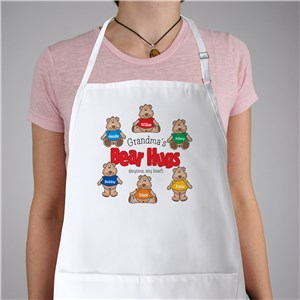 Bear Hugs Personalized Apron | Personalized Aprons