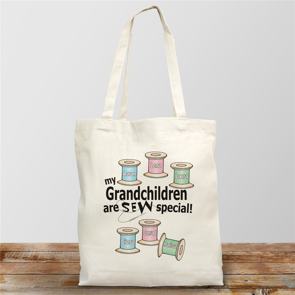 Sew Nice Canvas Personalized Tote Bag | Personalized Tote Bags