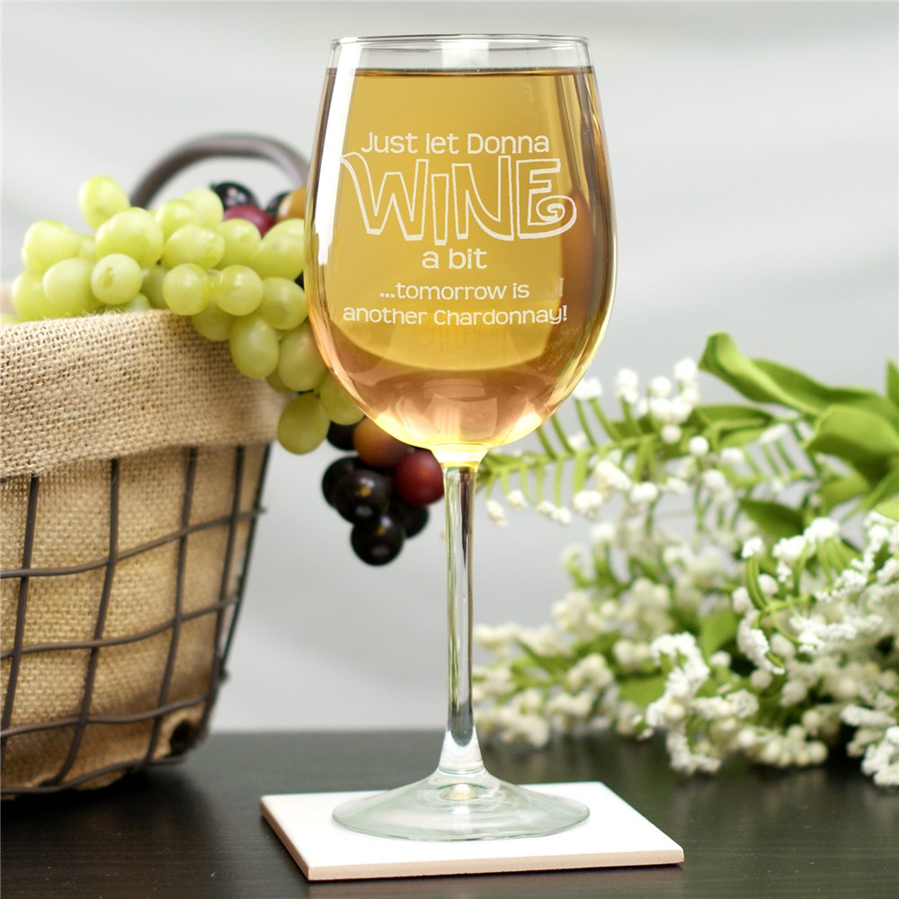 Engraved Wine Glass | Personalized Wine Glasses