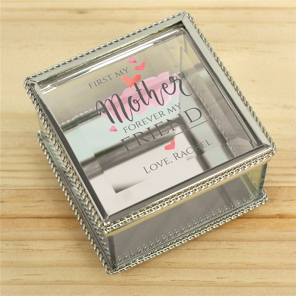 Personalized Forever Friend Jewelry Box | Personalized Mother's Day Gift