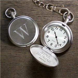 Engraved With Every Second Pocket Watch | Custom Pocket Watch