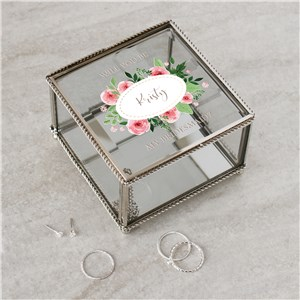 Personalized Be My Bridesmaid Jewelry Box | Personalized Bridesmaid Gifts