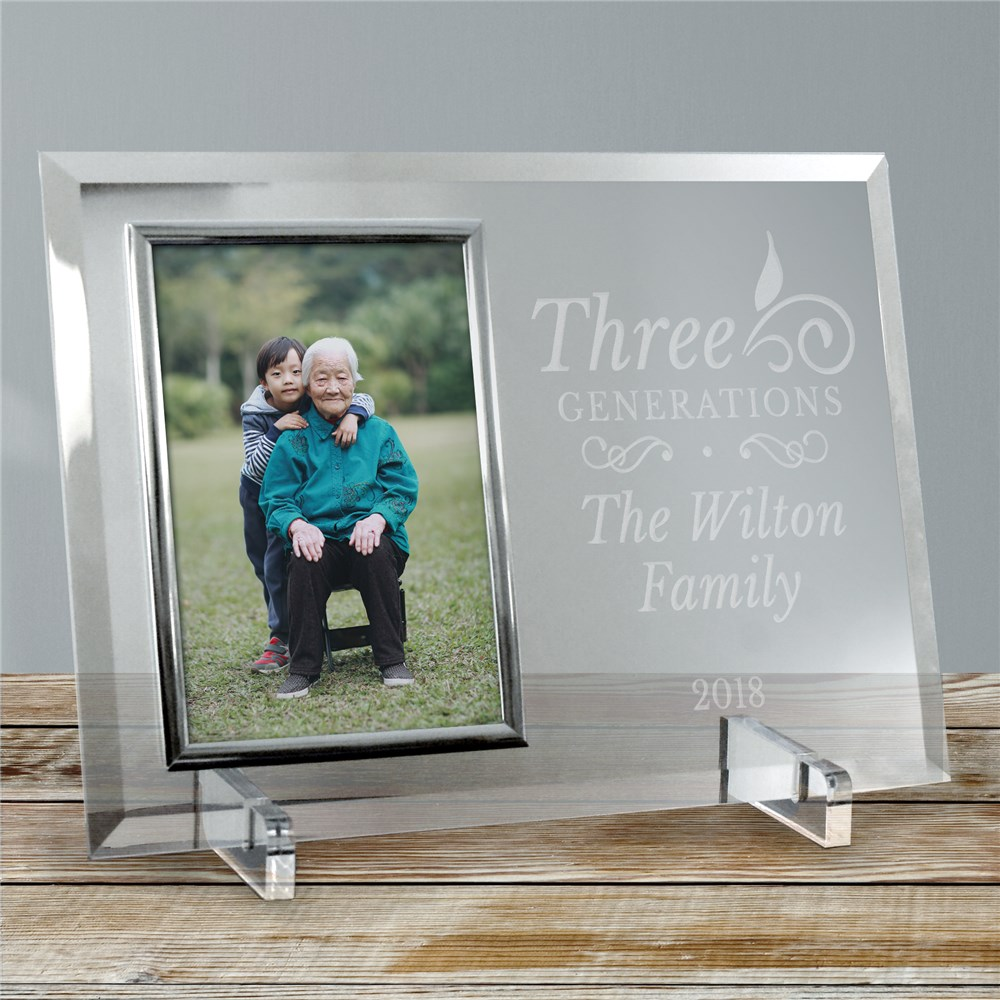 Personalized Generation Of Glass Frame | Personalized Picture Frame
