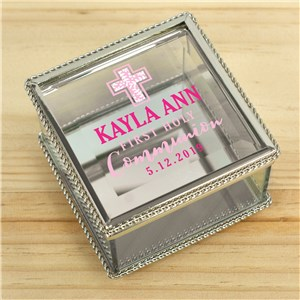 Personalized Jewelry Box | First Communion Gifts For Girls