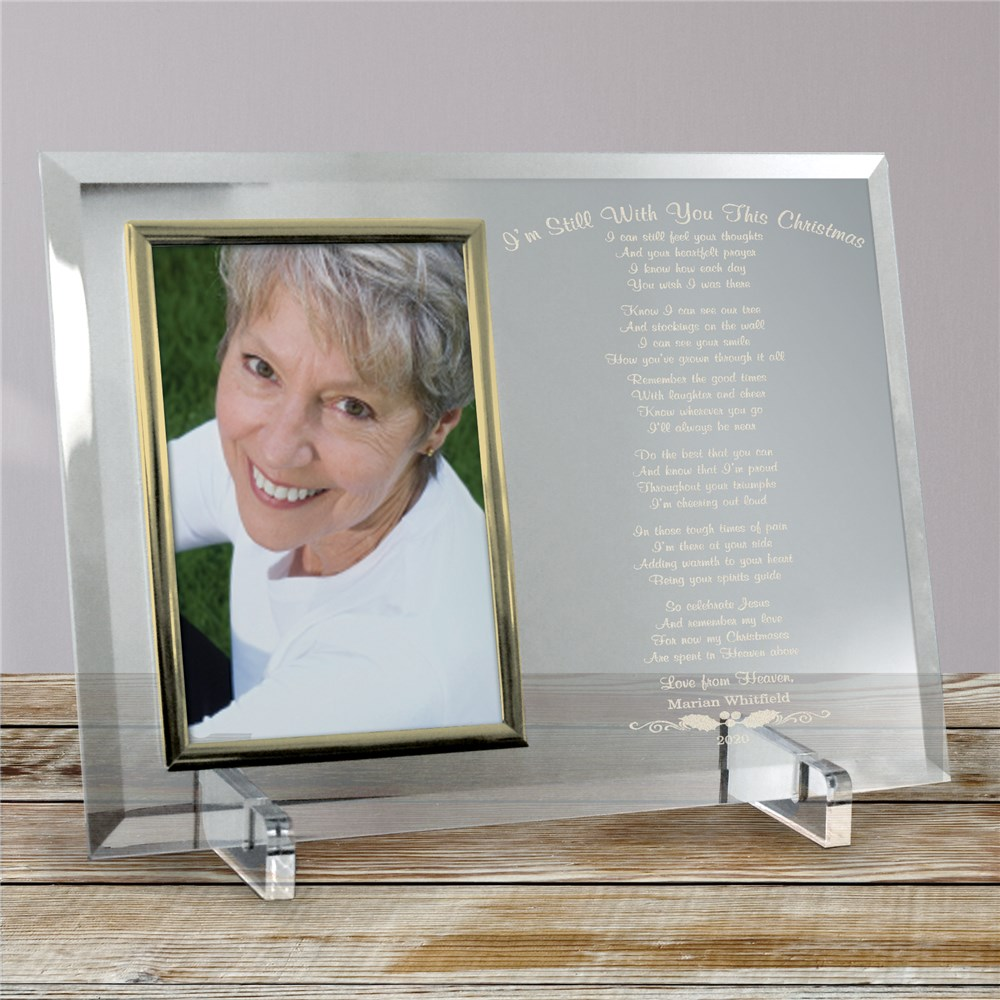 Still With You This Christmas Personalized Picture Frame | Personalized Picture Frames