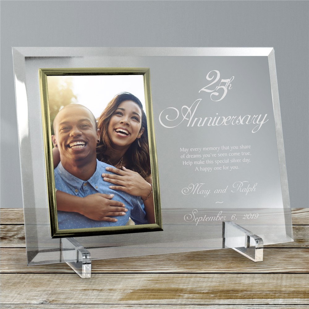 Customized Picture Frames | Personalized Anniversary Frames