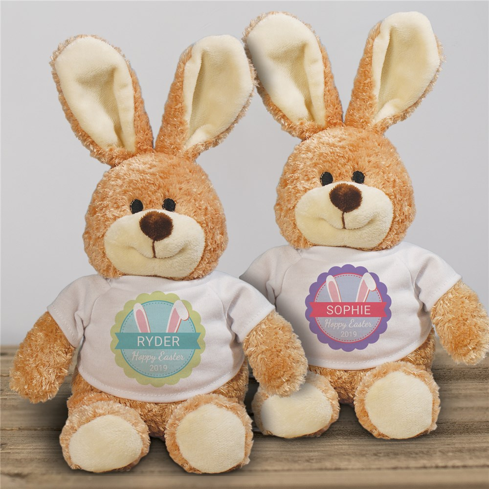Personalized Bunny Ears Easter Bunny | Easter Gifts For Baby